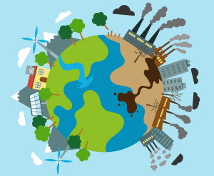 production renouvelable polluante