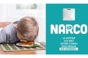 Le boîtier Narco électricité verte Ekwateur